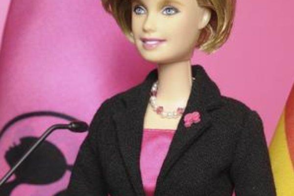 Angela Merkelová ako Barbie.