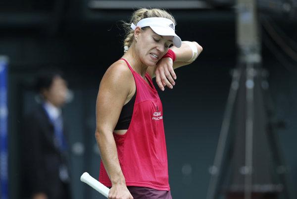 Angelique Kerberová nemá za sebou najlepšiu sezónu.