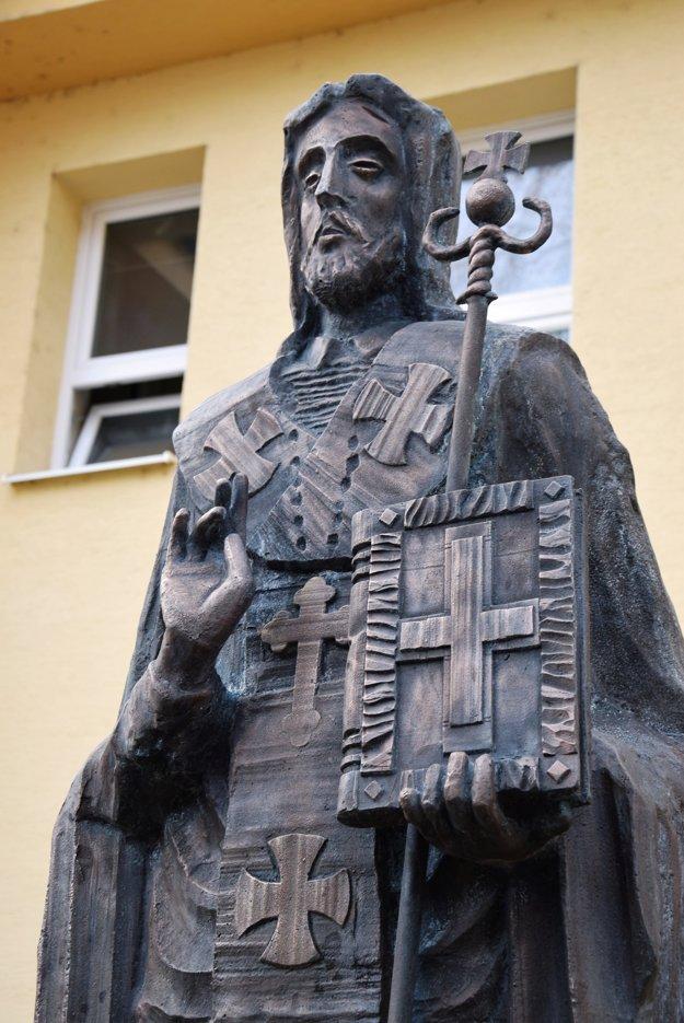 Socha sv. Jozafát.