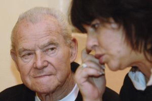 Režisér Jiří Sequens s českou kolegyňou.
