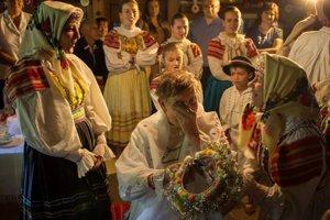 Kultúra, tradície a história - 1. miesto: Matúš Maťufka – Tradičná svadba (fiktívna svadba starej dievky, Osturňa)