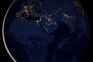 Takto vyzerala nočná Zem v roku 2012.