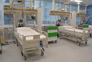 Interiér novej nemocnice.