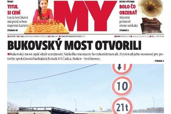 MY Kysucké noviny už zajtra čakajú na vás v stánkoch.