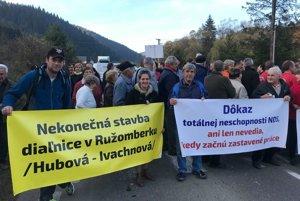 Pôjde o tretiu blokádu cesty v Likavke.