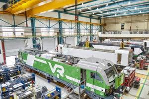 Výroba lokomotív pre Fínov.