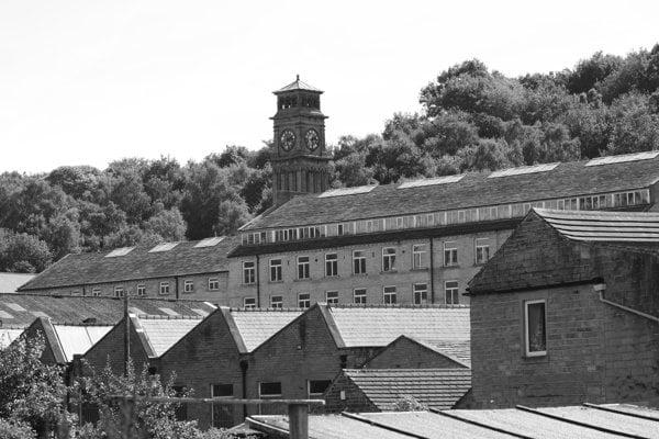 Bývalá továreň Brookes Mill