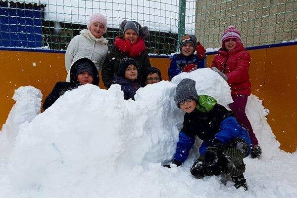 Z bohatej snehovej nádielky sa dnes tešia asi len deti.