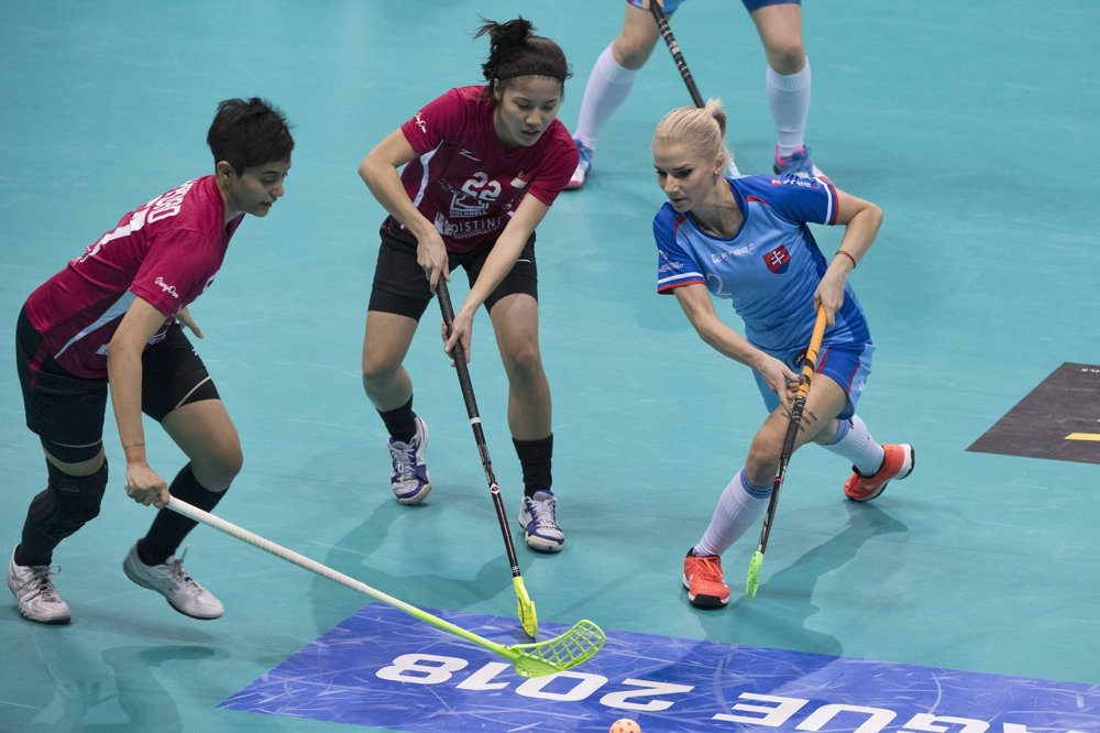 b03da1af5 ONLINE Slovensko - Singapur 12:2 (MS žien 2017 florbal) - Šport SME