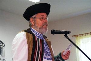 Štefan Gerža sa venuje aj folklóru.
