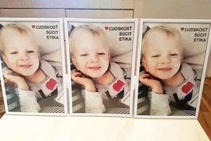 Tieto fotky chcela rodina umiestniť na detské oddelenie a JIS. Podľa právnika nemocnice by to nebolo vhodné.