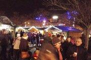 Vianočné trhy v Senci.