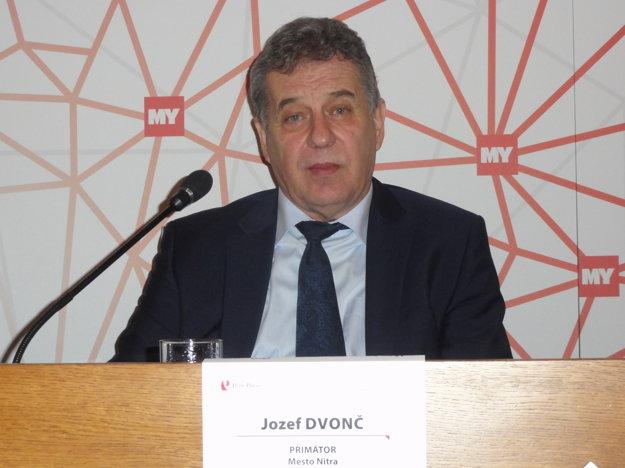 Jozef Dvonč, primátor Nitry.