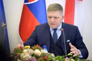 Slovenský premiér Robert Fico.