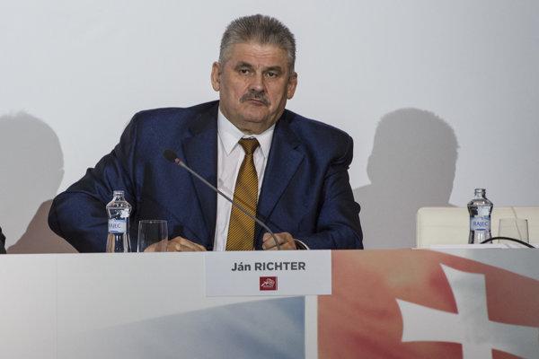 Ján Richter, minister práce, sociálnych vecí a rodiny.