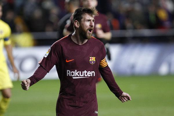 Messi strelil v drese BArcelony už 525. gól.