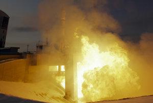 Štart rakety Sojuz 2.1 b z kozmodromu Vostočno v novembri.