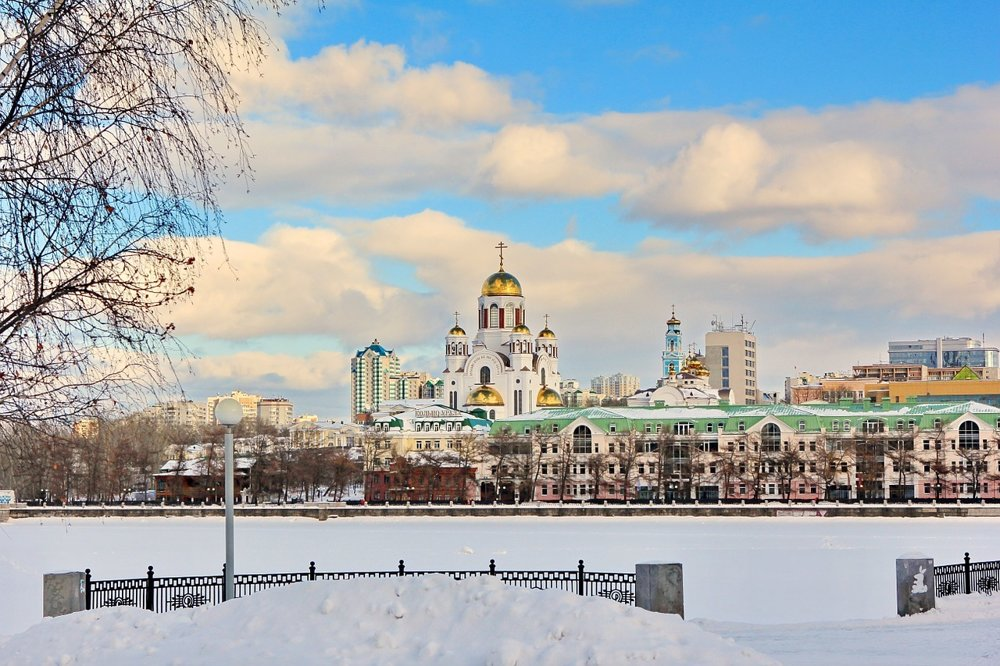 Chrám na krvi, Jekaterinburg