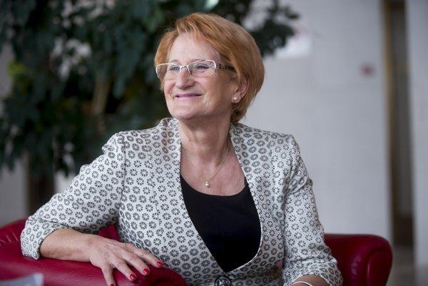 Bývalá poslankyňa Smeru, dnes už ústavná sudkyňa Jana Laššáková.