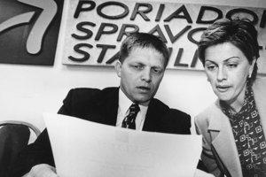 Robert Fico v Bratislave predstavil novú politickú stranu Smer.