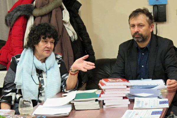 D. Daneková počas školenia kronikárov.