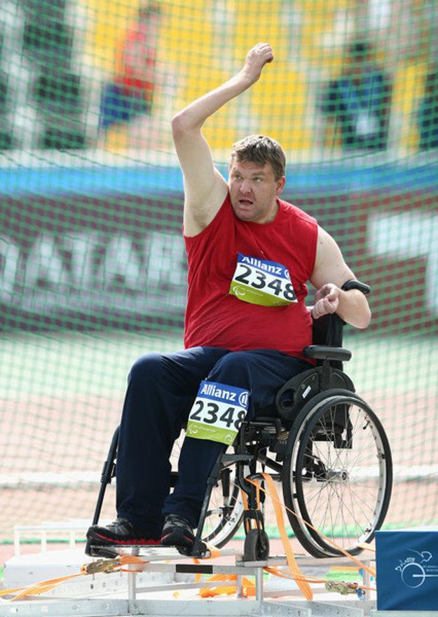 Paralympionik Marián Kuřeja.