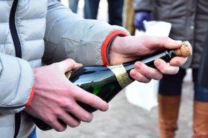 Firma na výrobu šumivého vína v Prešporku vznikla v roku  1825. Ilustračné foto.