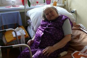 Milada Melíšková je v domove dôchodcov 13 rokov a na Vianoce sa vždy teší.