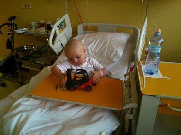 Šimonko bojuje s leukémiou v nemocnici aj na Vianoce.