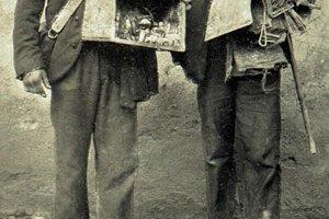 Betlehemci z Horehronia - rok 1908. Ilustračné foto.