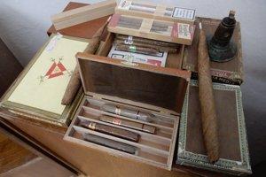 Cigary, aké sa vyrábali v Smolníku.