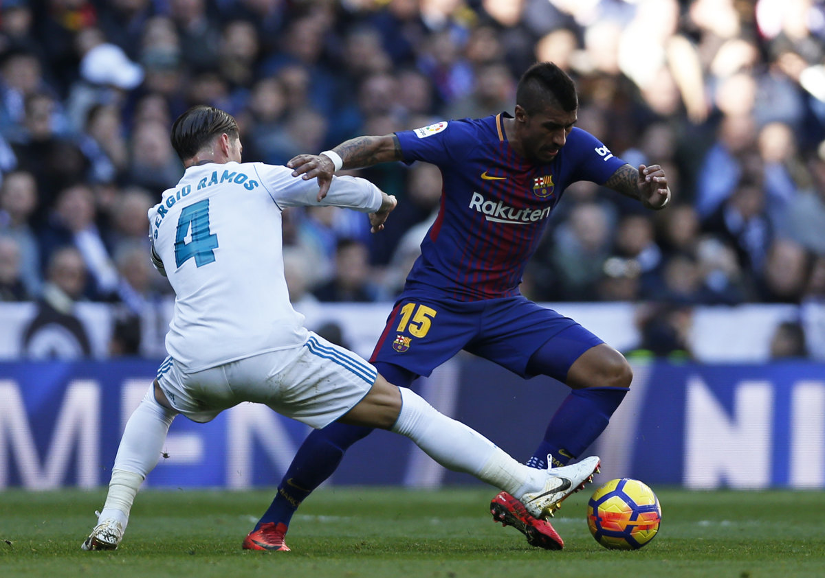 9ff0f08b4c4bf Paulinho patrí medzi opory FC Barcelona (2017/2018) - Šport SME