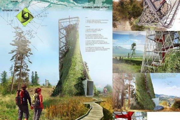 Víťazná návrh veže.