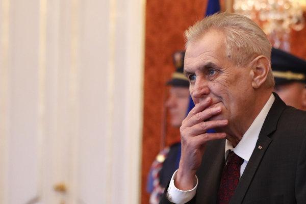 Český prezident Zeman.