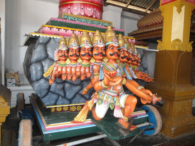 Na Srí Lanke je veľa hinduistických pamiatok.
