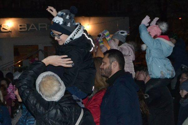 V Lučenci sa bavili deti aj dospelí.