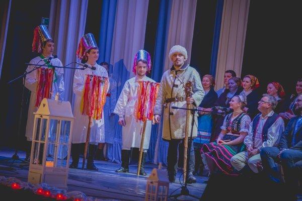 Pastyre v podaní Rolanda Gubu a bratov Zjatikovcov. Boli vyvrcholením koncertu.