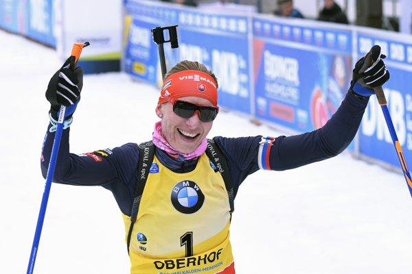 Anastasia Kuzminová sa opäť tešila z víťazstva.