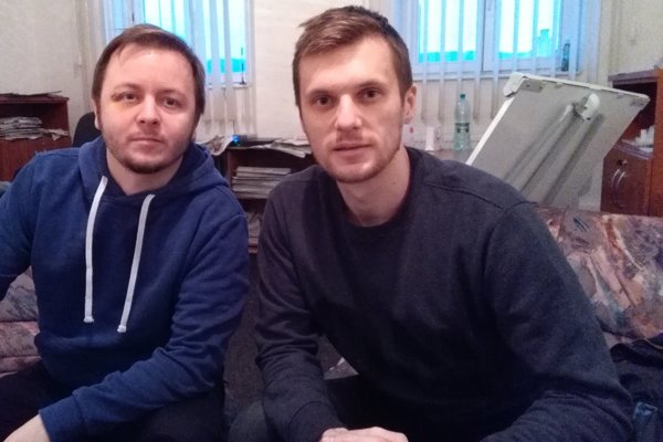 Priekopníci. Gabriel Staroň (vľavo) aMatúš Kočiš.