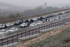 Otvorenie diaľničného úseku Fričovce Svinia.