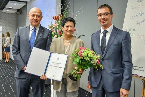Zľava: A. Siekel, A. Blahutová aP. Korčok. FOTO: ARCHÍV SOV