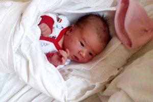 Ema Rošková (3710 g, 51 cm) sa narodila 23. decembra Michaele a Ivanovi z Nového Mesta nad Váhom. Doma už majú šestnásťročnú Ninu.