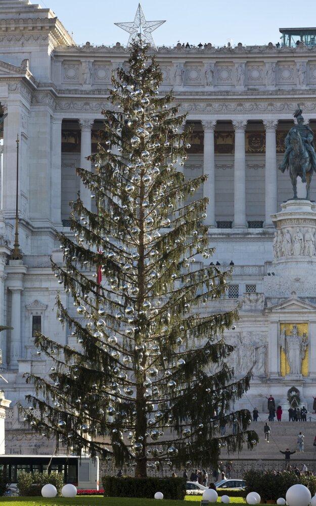 Strom dostal prezývku Prašivec.