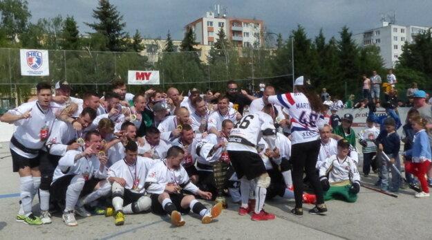 Hokejmarket Skalica - majster Slovenska.