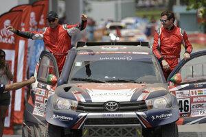 André Villas-Boas (vpravo) na Dakare skončil.