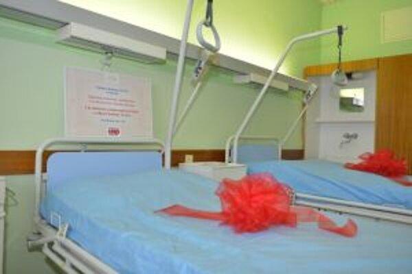 Nové postele sú prínosom pre pacientov