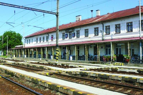 Martinská železničná stanica sa dočká rekonštrukcie.