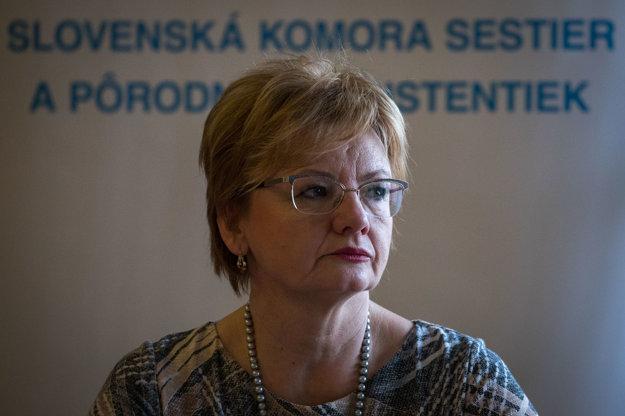 Bývalá ministerská sestra Tatiana Hrindová.