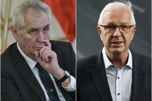 Súčasného prezidenta Miloša Zemana v druhom kole vyzve Jiří Drahoš.
