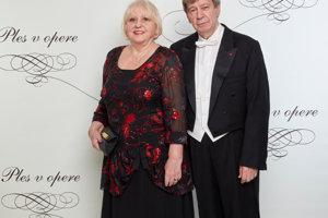 Eduard Kukan s manželkou